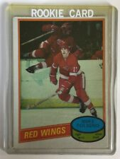MIKE FOLIGNO RC 1980/81 O-Pee-Chee #187 - Detroit Red Wings & Buffalo Sabres