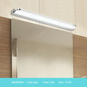 9/12W LED Modern Bathroom Mirror Lamp Front Picture Light Wall Light Bath Home