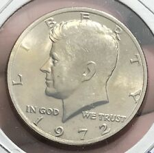 1972 KENNEDY HALF DOLLAR. COLLECTOR COIN FOR SET OR COLLECTION.
