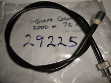 TOYOTA CORONA 2000 MANUAL 1972on,SPEEDO CABLE,   29225