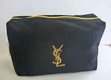 Ysl Black and Gold Makeup Cosmetics Bag, Brand New! 100% Genuine!
