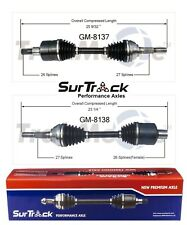 For Chevy Blazer S10 GMC Jimmy Sonoma ZR2 Pair Front CV Axle Shafts SurTrack Set