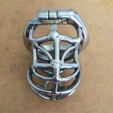 Male Chastity Device with Urethral Plug cannula Stainless Steel Chastity zc063