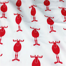Christmas Series Printed 100% Cotton Fabric DIY Sewing Cloth Handmade Material