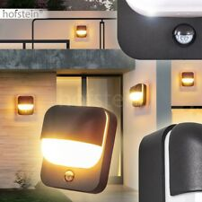 LED Bewegungsmelder Außen Wand Leuchte Dimmer Veranda Terrassen Garten Hof Lampe