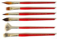 Pennelli assortiti acquerello per dipingere
