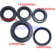 5PCS/Bag GY6 125 150CC Moped Scooter Engine Crank Shaft O Rings Oil Seal Set