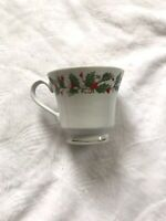 China Pearl Noel Gold Rimmed Cups and Saucers Lot Of 4 w/ Stamps