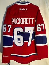 Reebok Premier NHL Jersey Montreal Canadiens Max Pacioretty Red sz L