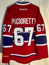 Reebok Premier NHL Jersey Montreal Canadiens Max Pacioretty Red sz L