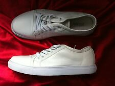 MENS YD WHITE LEATHER LINED KICKS  SIZE: 11US/44EUR/10UK NEAR NEW