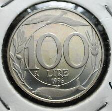 1996  Repubblica Italiana 100 lire  FONDO SPECCHIO  da divisionale