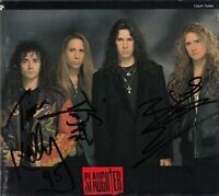 SLAUGHTER - THE WILD LIFE CD 1992 JAPAN TOCP-7094 AUTOGRAPHED