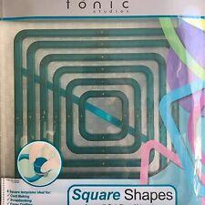 Tonic Studios Shape-Mate System - 6 Square Shapes - 751A - NEW