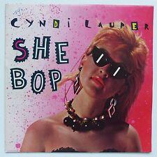 CYNDI LAUPER She bop A 4620 CB 111 Discothèque RTL
