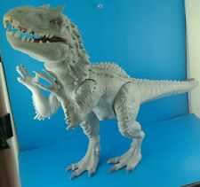 "2014 Jurassic Park World Indominus Rex 20"" Dinosaur Figure Lights and Sound"
