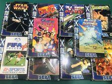 Lot Of 10 Mega Drive 32x Pal All New Wow