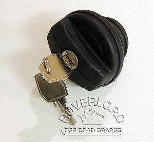 Land Rover- Defender TD5 /Puma Locking Fuel Cap with 2 keys. WLD500200  LR075664