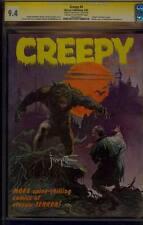 CREEPY 4 CGC 9.4 SS SIGNED FRANK FRAZETTA CLASSIC WOLFMAN COVER SUPER RARE 1965