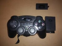 Hip Gear PS2 Playstation 2 Wireless Controller Device LM575 and Host Tested