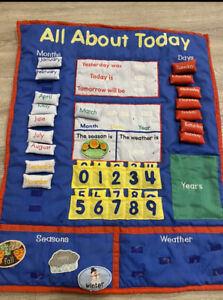 Lakeshore Elementary School Teach All About Today Calendar Days Months Weather