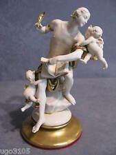 Porcellane Capodimonte,G.Cappe' IL Poeta e la Musicista