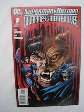 SUPERMAN & BATMAN vs VAMPIRES & WEREWOLVES 1. By VANHOOK & MANDRAKE.  DC 2008