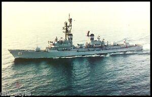 USS Cochrane DDG-21 postcard US Navy Ship Guided Missile Destroyer