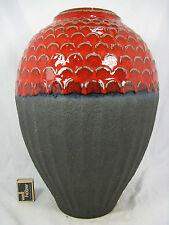 Unusual 70´s design Bay in rilievo Ceramica/Relief Pottery Vaso 424 - 41