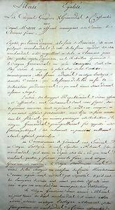 Requête Révolution Commune affranchie GRIMARDIAS GRASSIERE Clermont Ferrand 1793
