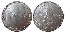 J367 5 Reichsmark Hindenburg m. H.   1938 J in VZ  465015