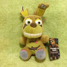 "Five Nights at Freddy's Nightmare Springtrap Plush 6"" Plushie Funko FNAF  F021"