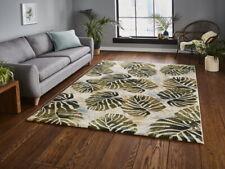 Tropics Cream & Green Floral Modern Rug