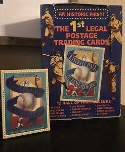 1992 St. Vincent Baseball Hall Of Fame Postage - 1st Edition Sealed Set