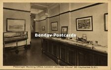 Batavier Line Rotterdam - London Passenger Booking Office Greener House (1910s)