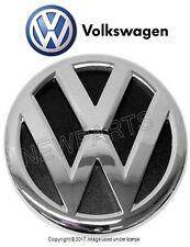 "NEW Volkswagen Jetta 10-14 Emblem ""VW"" Chrome/Black for Rear Hatch 1K9853630AULM"