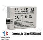 Batteria per CANON LP - E5 LPE5 Eos 450D 500D 1000D Rebel T1i Xs - 1200mah - e5