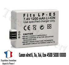 Compatible battery for CANON Eos 450D 500D 1000D Rebel T1i Xs - 1200mah LP-E5