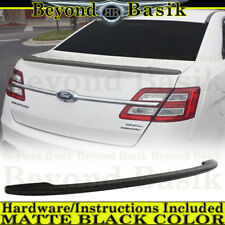 2013-2018 Ford Taurus MATTE BLACK Factory Style Spoiler Wing