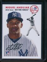 2018 Topps Throwback Thursday Miguel Andujar RC Card #258 Rookie SP