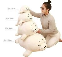 Seal Plush Doll Huge Pillow Xmas Gift Large Soft Stuffed Cartoon Cute Animal Toy