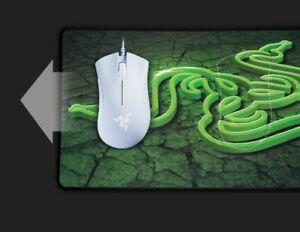 Razer DeathAdder Essential Wired Gaming Mouse: 6400 DPI Optical Sensor - White