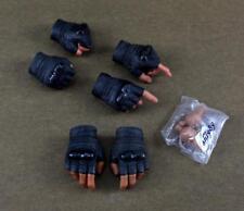 1/6 Scale Hot Toys MMS199 G.I. Joe Retaliation Roadblock Hands w/ Pegs Set