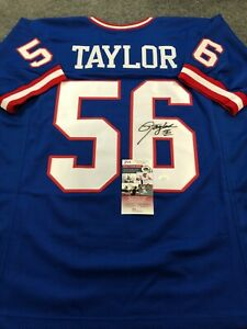 N.Y. GIANTS LAWRENCE TAYLOR AUTOGRAPHED SIGNED JERSEY JSA COA
