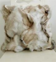 100% Real Fox Fur Pillow Cushion Cover Pillowcase Custom-made cushion cover Home