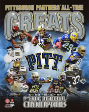 PITTSBURGH PANTHERS All-Time Greats Glossy 8x10 Photo Dan Marino Dorsett Poster