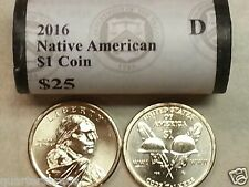 Hand Rolled 2011 Denver Mint D UNC BU Ulysses Grant $25 Gold Dollar Roll