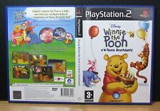 DISNEY WINNIE THE POOH E LE PANCE BRONTOLANTI PS2 PlayStation PAL Italiano Usato
