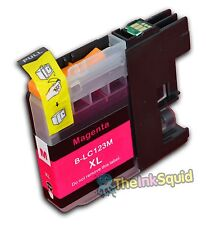 1 Magenta LC123 Ink Cartridge For Brother DCP752DW DCPJ4110DW MFCJ4410DW non-OEM
