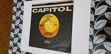 Johnny Bower, Honky The Christmas Goose, 1965 pop novelty 45, Capitol, Canada